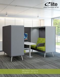 Retreat Breakout Booth / Sofa from Elite Office Furniture