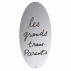 Les Grands Trans-Parents Mirror - design Man Ray - Simon by Cassina