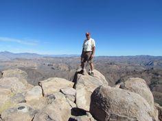 TOP OF SUPERSTITION MT. 5,540 FT.