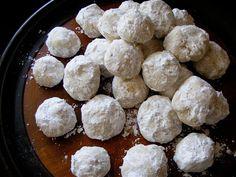 Just like my Grandma Nestor's Christmas Snow Ball Cookies