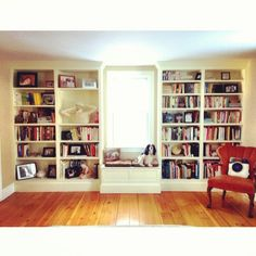"""Yesterday the New York Public Library ran a """"shelfie"""" contest. They asked book lovers to submit photos of their personal bookshelves or favorite library shelves to profess their love of books, and the role they play in our lives. The response was impressive: More than 1,200 Instagram posts and 1,700 tweets from 11 countries in 6 languages."""