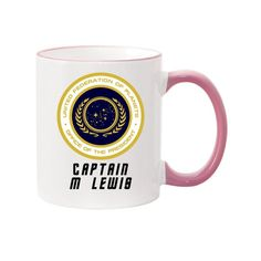 STAR TREK MUG Personalised Father's day Mother's image 1 Unique Gifts For Mom, Gifts For Him, Star Trek Mug, Mother Images, Love Games, Birthday Gift For Him, Fathers Day, Geek Stuff, Mugs