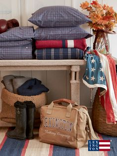 The Lexington Company is known for offering luxury designs in home textiles and apparel for men and women, inspired by New England style' - trends. Shop for the latest home collections & clothing from Lexington! Lexington Style, Lexington Company, Lexington Home, Nantucket, New England Style Homes, Les Hamptons, East Coast Style, New England Fall, Cap Ferret