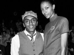 Marcus Samuelsson with wife-model Maya Haile. Joe Corrigan, Getty Images Files