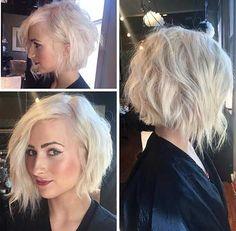25 Good Asymmetrical Bob Haircuts   Bob Hairstyles 2015 - Short Hairstyles for Women by latasha