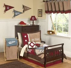 toddler sports bedding | Star Sports Toddler Bedding Collection-All Star Sports Toddler Bedding ...
