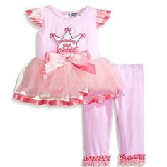 Baby Girls Deer Pants Outfit set of baby clothes Christmas child dress