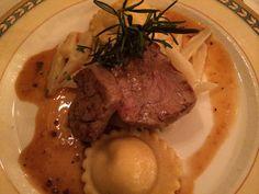 Hauptspeise in der Pfistermühle. Werde Restaurant-Tester auf www.testando.de/pinterest