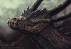 Crocdragon by Valentina-Paz.deviantart.com on @DeviantArt