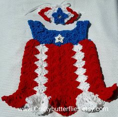 Check out this item in my Etsy shop https://www.etsy.com/listing/81678936/taina-puerto-rican-flag-baby-crochet