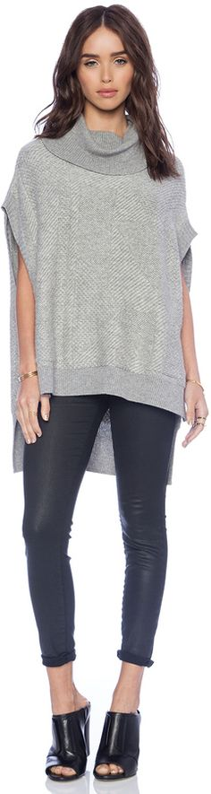 BCBGMAXAZRIA Elinor Sweater on shopstyle.com  this is the one i liked from run way $248 heather gray  revolve