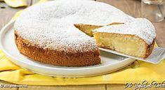 Torta al limone cremosa veloce ricetta Brownie Cheesecake, Vanilla Cake, Muffin, Desserts, Recipes, Food, Chowder, Lantern, Vanilla Sponge Cake