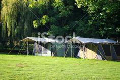 Camping Scene Royalty Free Stock Photo