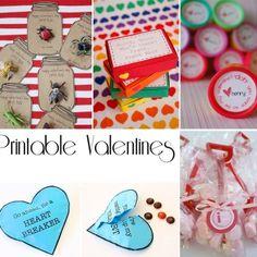 free printable school valentines