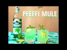 Moscow Mule war gestern, wir trinken jetzt Pfeffi Mule   Mit Vergnügen Berlin