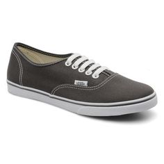 Vans Authentic Lo-pro Grey...me love me vans...me also love grey...me..want...