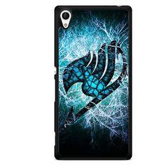 Fairy Tail Logo Lightning TATUM-4029 Sony Phonecase Cover For Xperia Z1, Xperia Z2, Xperia Z3, Xperia Z4, Xperia Z5