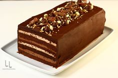 Chocolate Glaze Recipes, Chocolate Desserts, Bread Recipes, Cooking Recipes, Something Sweet, Cake Decorating, Caramel, Food And Drink, Yummy Food