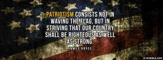 Righteous As Well As Strong - Facebook Cover Photo