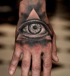 30 Mysterious Illuminati Tattoo Designs - Enlighten Yourself Check more at http://tattoo-journal.com/best-illuminati-tattoo-designs-meaning/