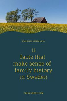 The Swedish society in the nineteenth century can be hard to understand. It's far from what the western world is today. Some of the history even differs from the rest of Europe. Here are eleven quick facts and busted myths that will help you with your family history in Sweden.   #sweden #genealogy #familyhistory