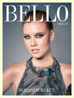 Actress Madisen Beaty looks stunning wearing the Swarovski Tropical Necklace for Bello magazine. Follow this link to purchase www.swarovski.com/1181248/product/Tropical_Necklace?BannerID=8003020.6