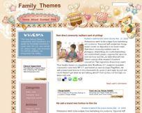 Bunny and Teddy WordPress Theme