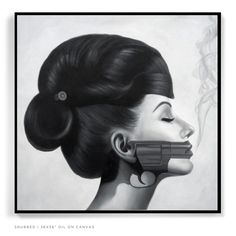 "Gorgeous. Saatchi Online Artist: Jason Pearson; Oil, 2013, Painting ""Snubbed"""