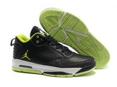 half off 5bec7 3220a Air Jordan After Game 2 Mens basketball shoe- Black Green