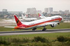 D2-TEH - TAAG - Angola Airlines Boeing 777-300 (63 views)