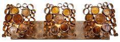 Fascinator Halogen 3-Light Vanity  (Home Decorators catalog)  I love this light fixture!