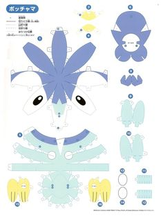 Pokemon Papercraft Articuno | Papercraft Pokemon…