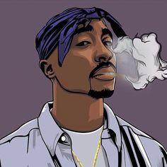 lbcloomis Wallpaper HD New: Wallpaper Cartoon Wallpaper Tupac Shakur Arte Do Hip Hop, Hip Hop Art, 2pac Wallpaper, Cartoon Wallpaper, Arte Dope, Dope Art, Cartoon Drawings, Cartoon Art, Tupac And Biggie