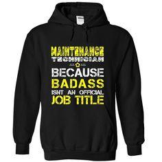MAINTENANCE TECHNICIAN T-Shirt T Shirt, Hoodie, Sweatshirt