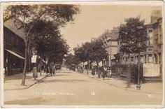 ST JOHNS ROAD, WATERLOO - NR LIVERPOOL - OLD REAL PHOTO POSTCARD (ref 4899/15) •…