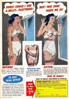 1952 Belly Flattener by retro-space, via Flickr