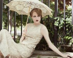 Paper Mothball Vintage: 1920s Hair and Makeup Tutorial