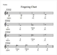 Violin Chart Free Lessons Sheet Music Pdf