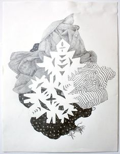 clothespile drawing 2