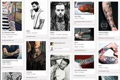 Tattoos, via the Official Pinterest Blog - I have on my canvass ie body - 14 meaningful pieces of art - not sure im done yet - there is more life yet to live with more artistic remembrances to shine!