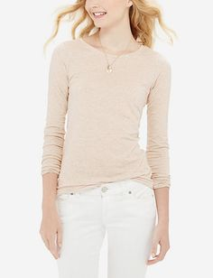 Long Sleeve Perfect Tee from THELIMITED.com