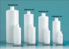 SKS Bottle & Packaging - Plastic Bottles, Natural HDPE Cylinders with Natural Push/Pull Caps Bottle Packaging, Product Packaging, Packaging Design, Detergent Bottles, Dish Detergent, Plastic Bottle Design, Plastic Bottles, Clean Bottle, Diy Recipe