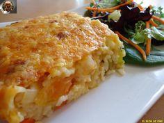 Aprende a preparar arroz gratinado con verduras con esta rica y fácil receta. Me encanta el toque de gratinado a los alimentos horneados, siempre que el plato lo...