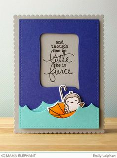 Art♥from♥the♥Heart: {Mama Elephant} Stamp Highlight: Everyday Greetings