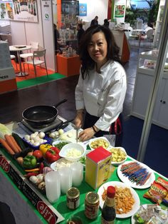 Bonnie in action at Anuga Global Food, Food Industry, Food Service, Growing Your Business, Exhibit, Pavilion, Catering, Action, Platform
