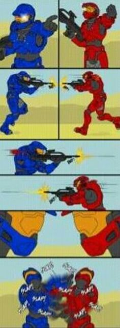Typical Halo Game