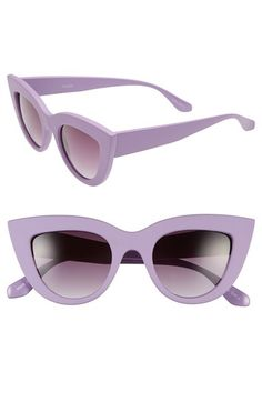 Free shipping and returns on Tildon 42mm Cat Eye Sunglasses at Nordstrom.com. An alluring cat-eye silhouette adds statement-making, retro flair to lightweight sunglasses.
