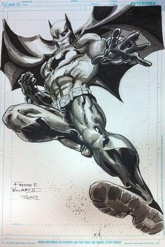 Batman by FreddieEWilliamsii on deviantART