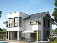 2 Storey House Modern with 3 Bedrooms Exterior House Colors, Interior And Exterior, Bungalow Extensions, Architecture Building Design, 2 Storey House, Modern House Plans, Future House, Modern Farmhouse, New Homes