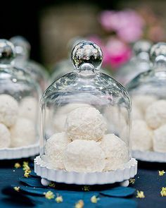 Looking for a creative way to display desserts at your wedding reception?